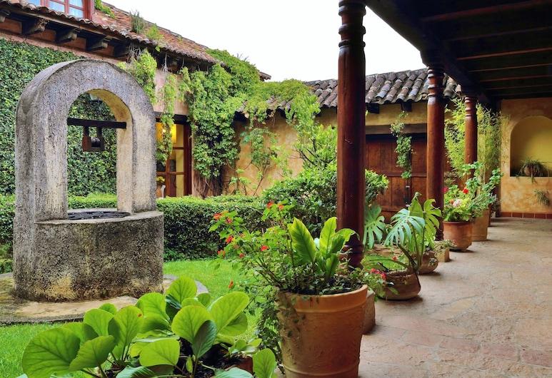 Casavieja, San Cristóbal de las Casas, Garten