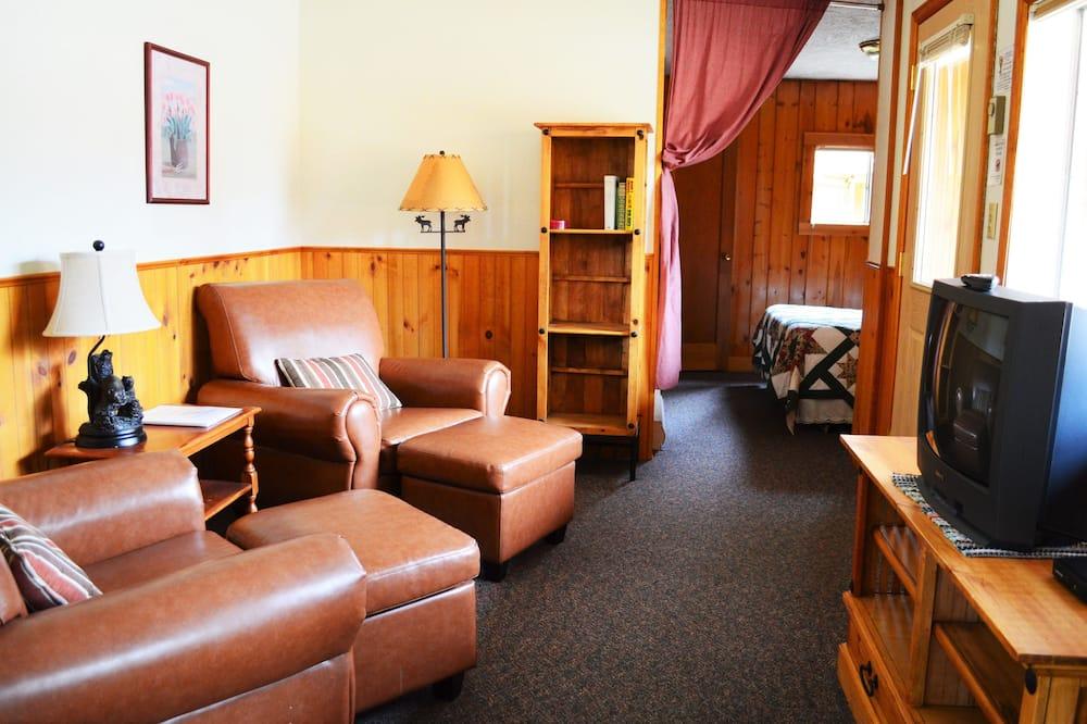 Μικρό Σπίτι, 1 Υπνοδωμάτιο (Ponderosa Pine - Not Pet Friendly) - Περιοχή καθιστικού