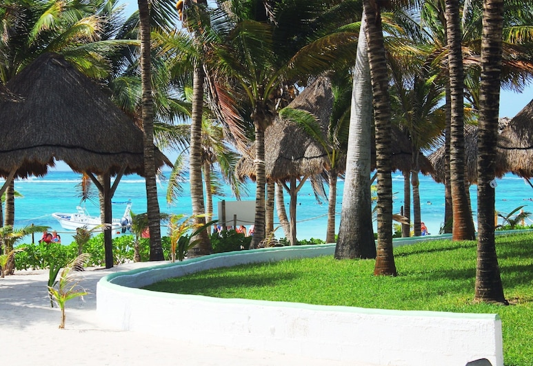 Hotel Akumal Caribe, Акумаль, Пляж