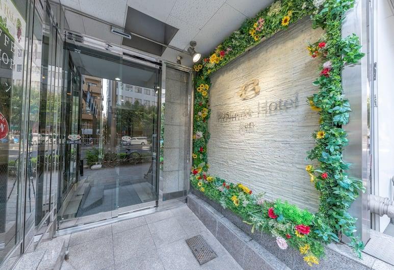 OYO 43947 築地阪商務酒店, 東京, 酒店入口