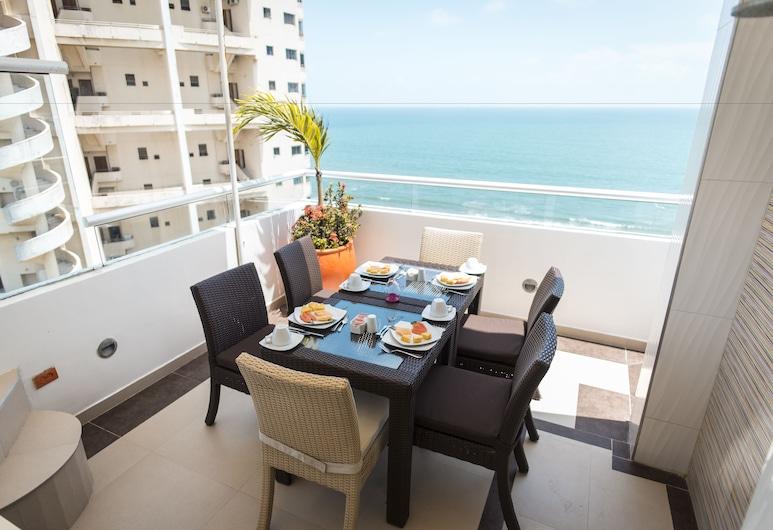 Hotel Cabrero Mar, Cartagena, Vakarienės lauke