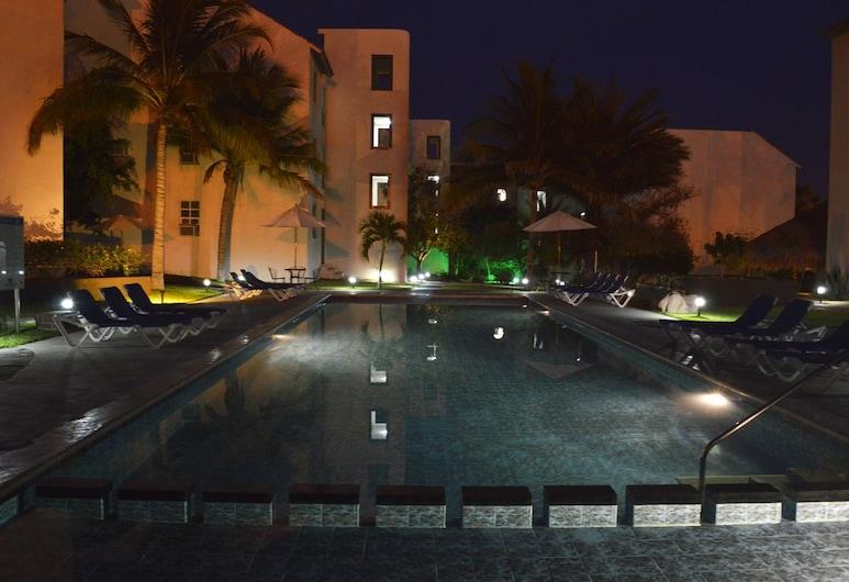 Santa María Hotel & Suites, סן חוזה דל קאבו, בריכה חיצונית