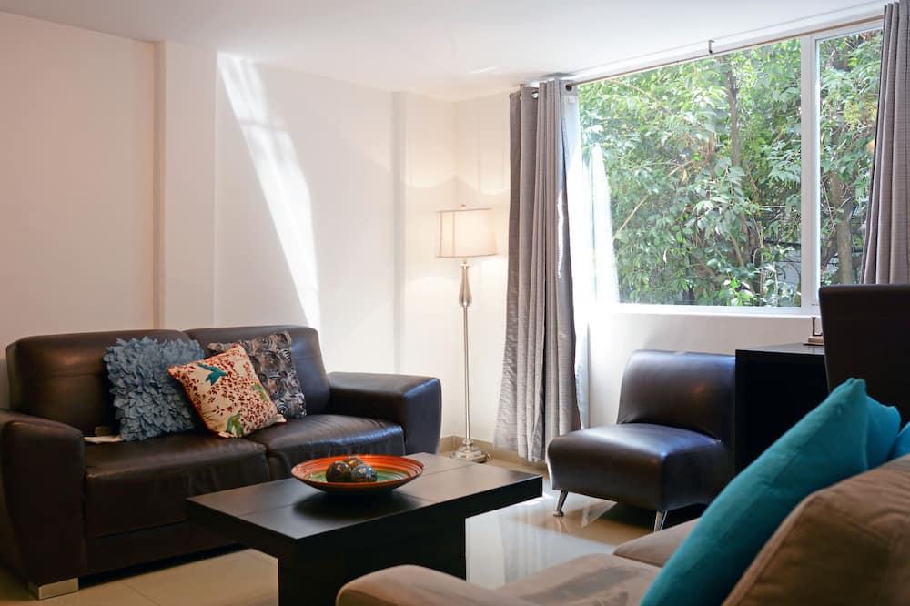 Suite, 1 Schlafzimmer - Wohnzimmer