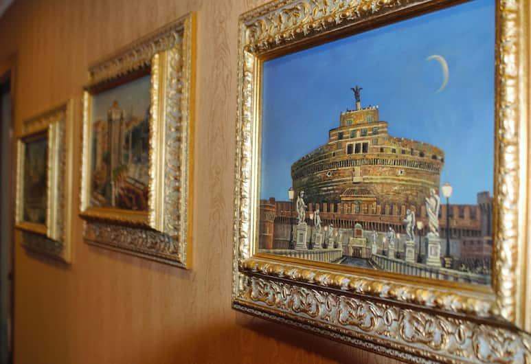 Vatican Holiday, Roma, Interni dell'hotel
