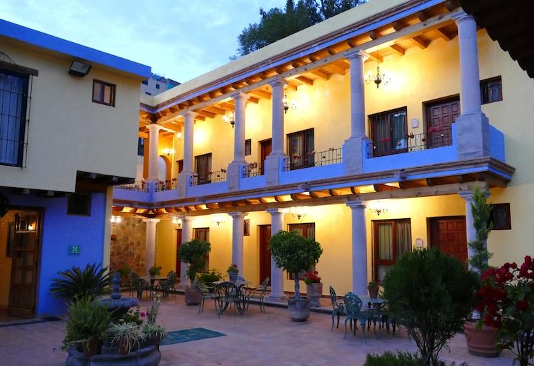 El Mesón de los Poetas, Guanajuato, Terraza o patio