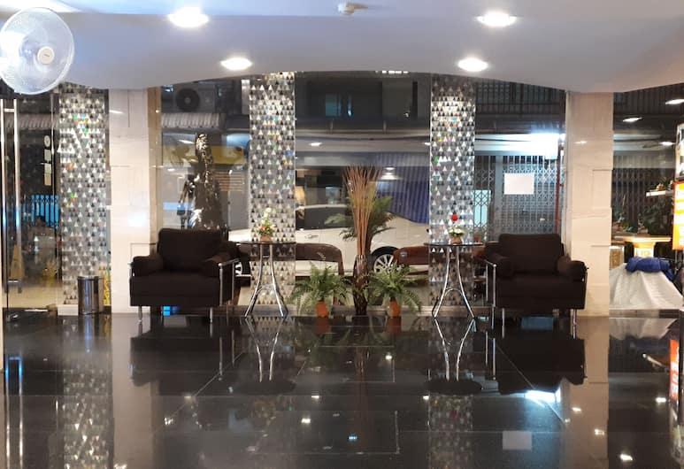 アイデアル ホテル プラトゥーナム, バンコク, ロビー応接スペース