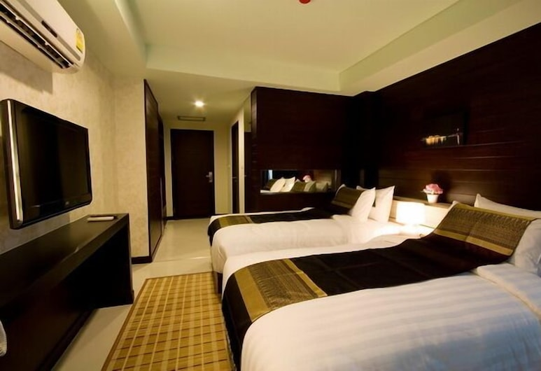 Ideal Hotel Pratunam, Bangkok, TWIN Bed (with window), Oda