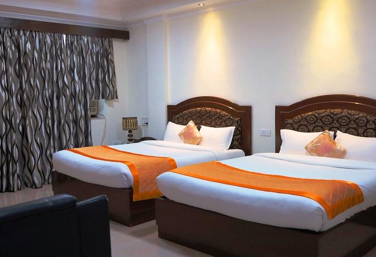 菩提伽耶麗晶大酒店, 加雅, 豪華客房, 1 張標準雙人床, 客房