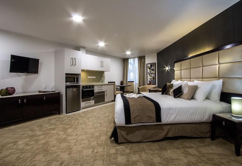 VR Queen Street - Hotel & Suites, Auckland, Premier Studio, 1 Katil Raja (King), Bilik Tamu