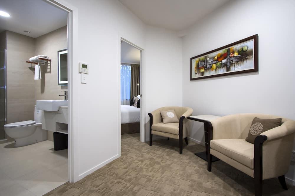 Люкс, 2 спальни - Зона гостиной