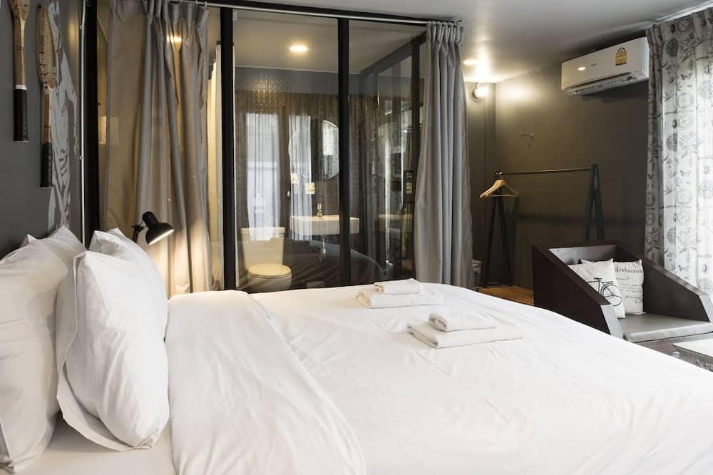 Grand Terrace Double Bed - Værelse