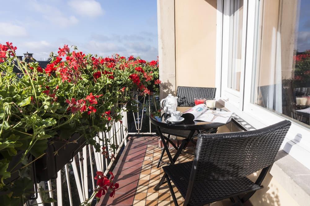 Deluxe apartman, 2 hálószobával - Erkély