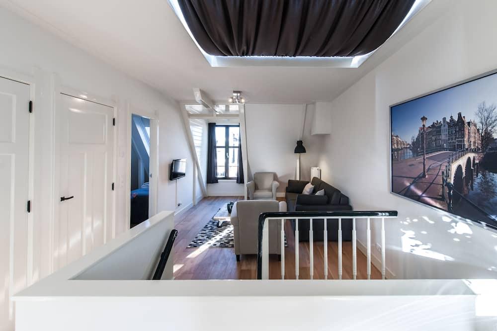 Familienapartment, 2Schlafzimmer - Wohnzimmer