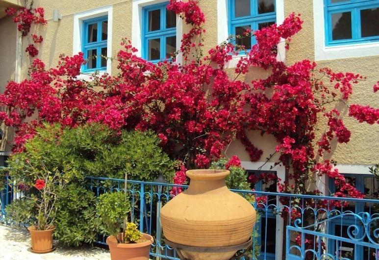 ホテル アギア マルケラ, キオス, 庭園