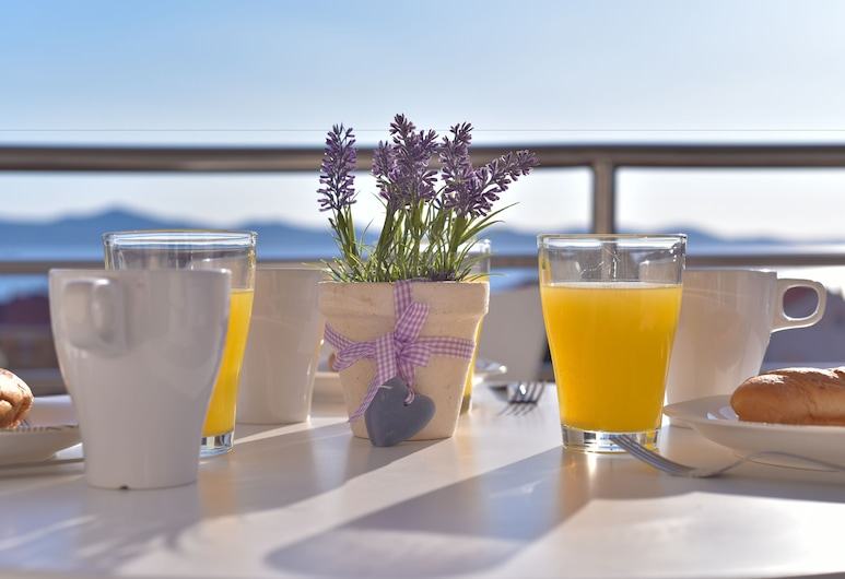 Villa Gravić, Zadar, Appartement, 1 slaapkamer, Balkon, Uitzicht op zee, Balkon