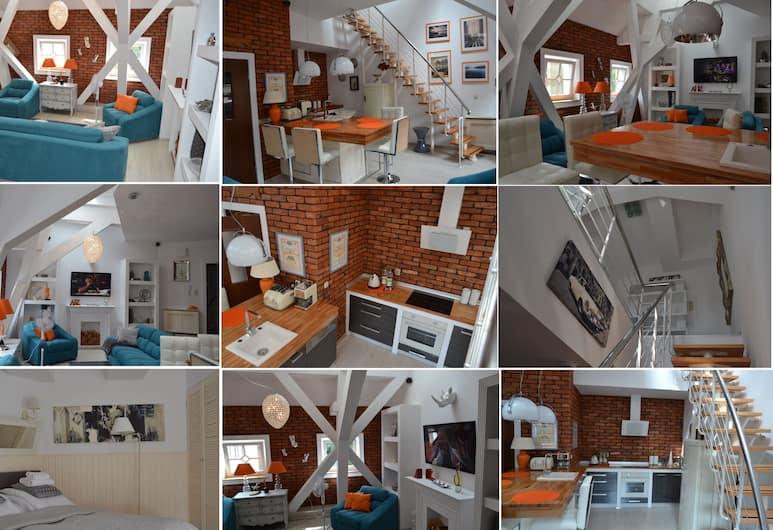Luksus Apartamenty Mariacka, Szczecin, Apartament, Pokój