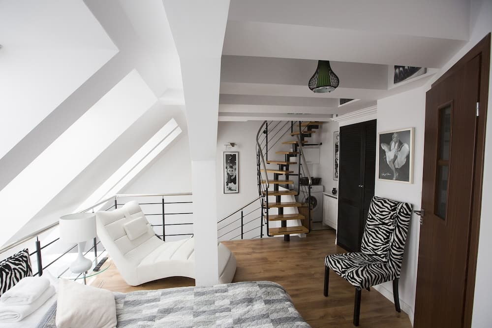 Apartment, 2 Schlafzimmer - Wohnbereich