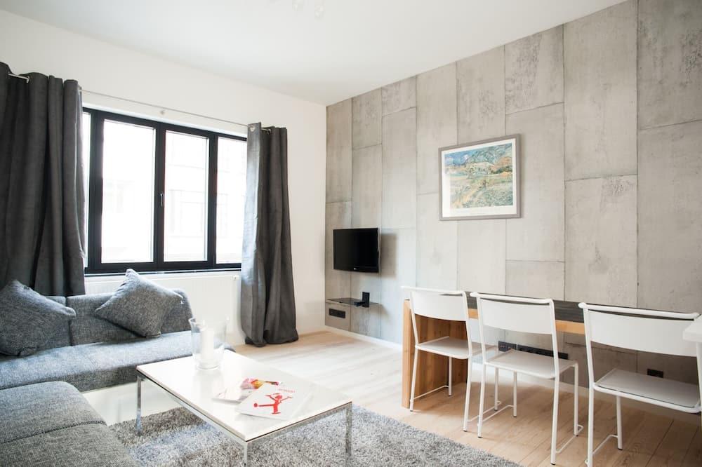 Apartament, 2 sypialnie, taras - Salon