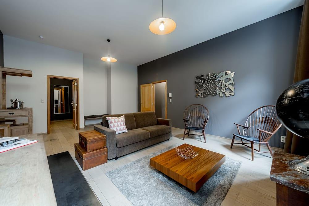Lejlighed - 2 soveværelser (6 adults) - Opholdsområde