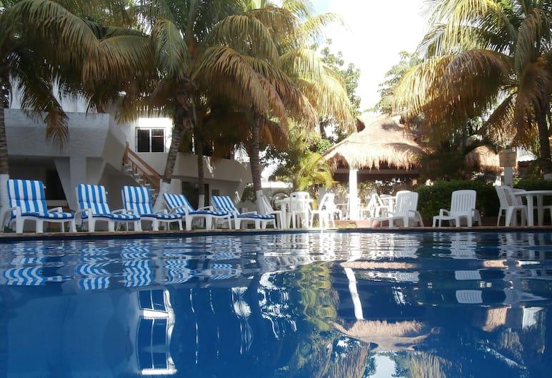 Caribe Internacional, Cancun, Kültéri medence