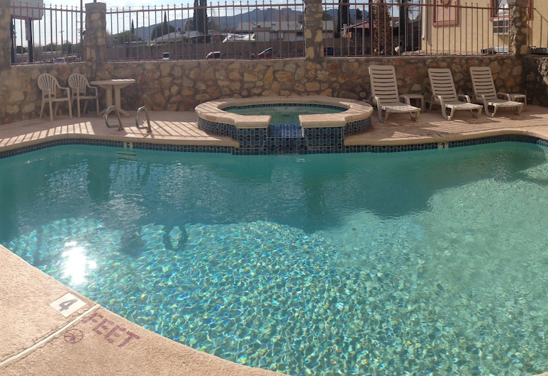 The Soluna Hotel, El Paso, Alberca al aire libre