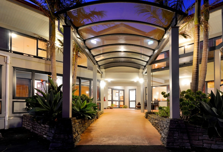Whangaparaoa Lodge Motel, Whangaparaoa, Hoteleingang