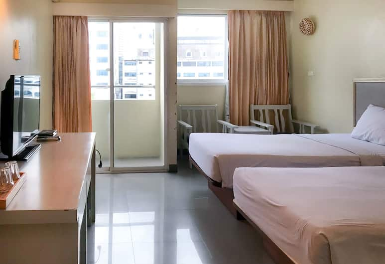 J Two S Pratunam Hotel, Bangkok, Standaard kamer, Kamer