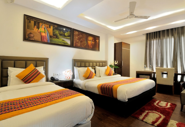 Hotel Cabana Pahar ganj, Nuova Delhi, Camera, Camera