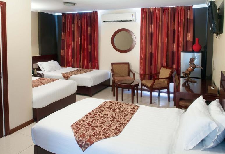 Hotel Palacio, Paramaribo, Štandardná trojlôžková izba, 3 jednolôžka, Hosťovská izba