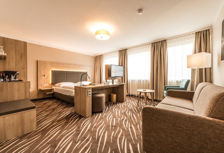 Heikotel Hotel Windsor, Hamburg, Premium-Einzelzimmer, Zimmer