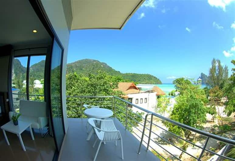 PP Tonsai Place, Ko Phi Phi, Deluxe Room, Partial Sea View, Balcony