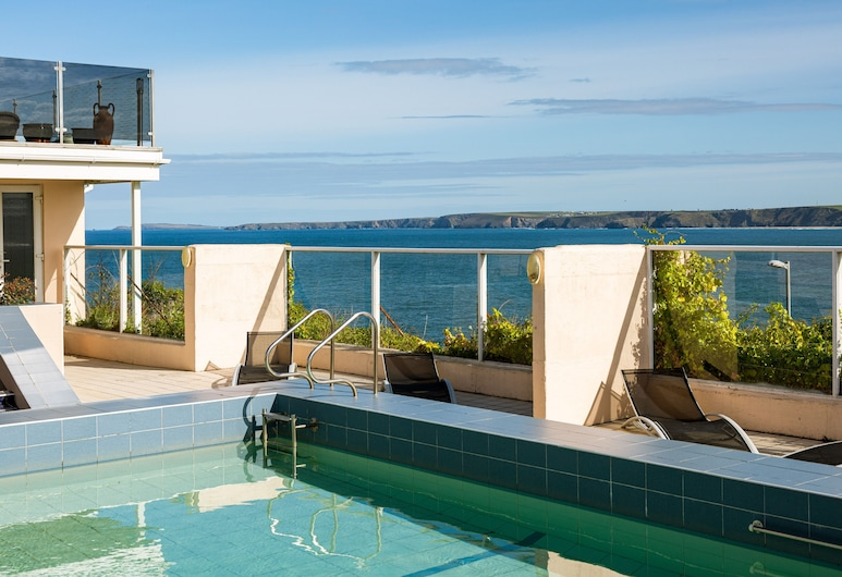 The Atlantic Hotel, Newquay, Basen odkryty