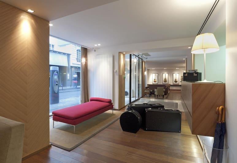 Hotel Le Colisee, Pariz, Predvorje