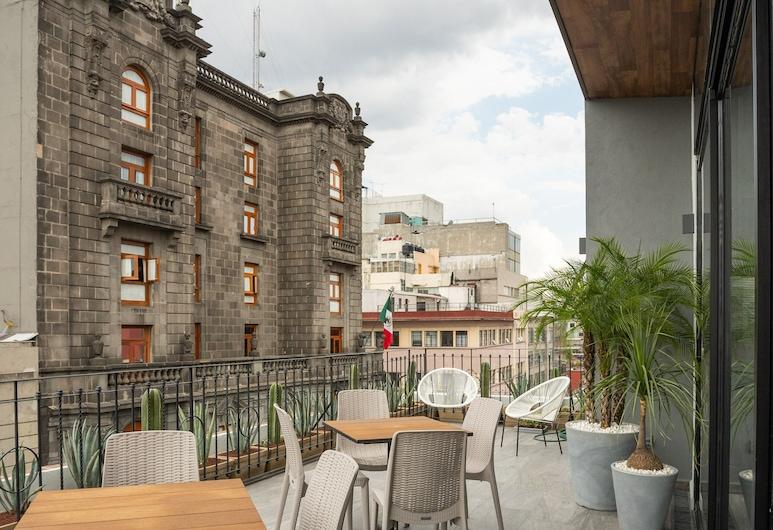 Hotel Principal, Mexico City, Porch