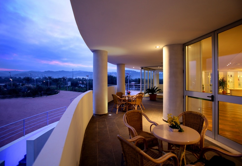 시알리 호텔, 비에스테, 테라스/파티오