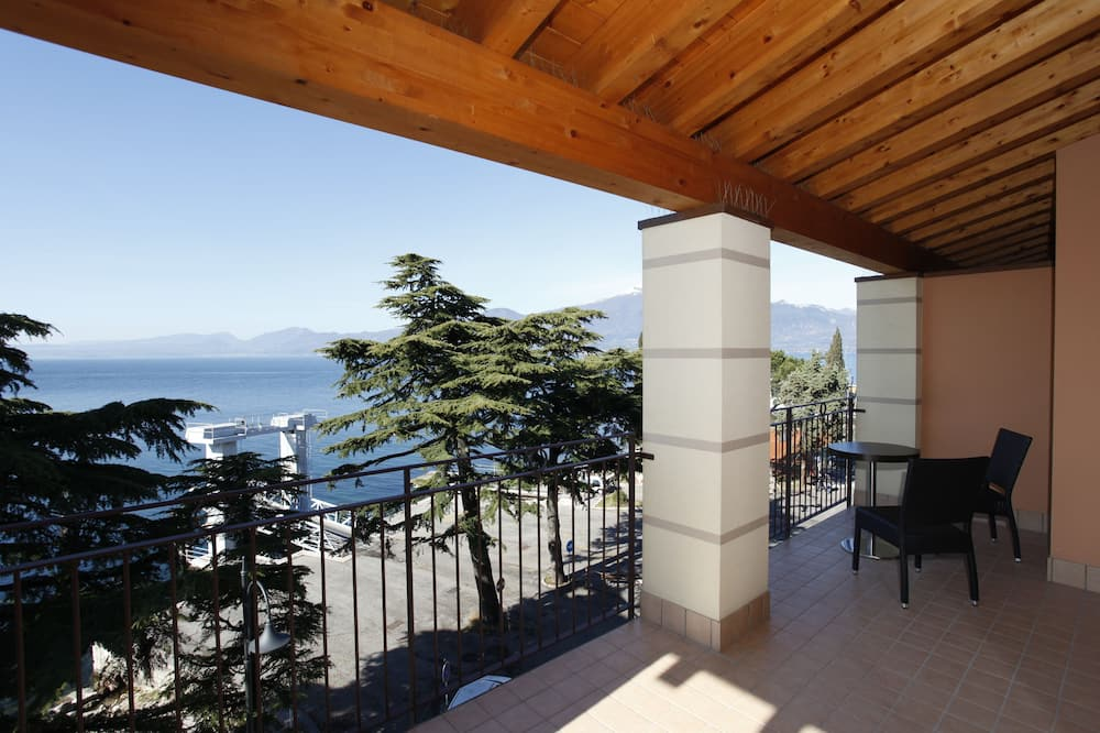 Familien-Suite, Seeblick - Balkon