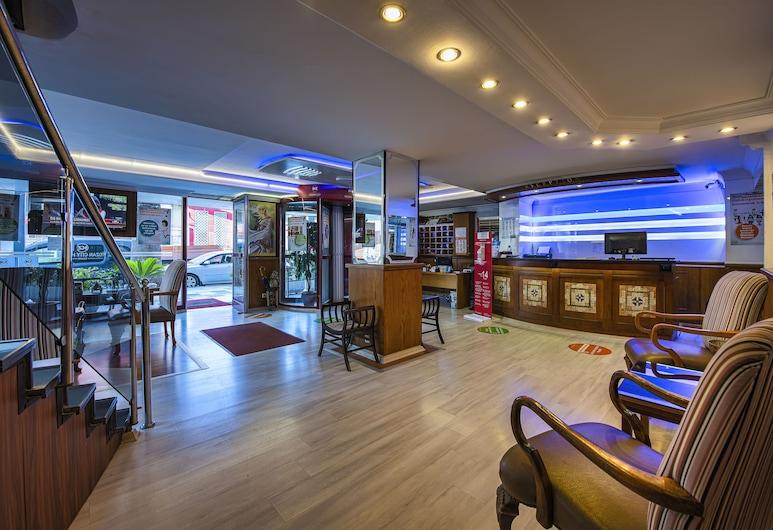 Kozan City Hotel, Izmir, Recepción