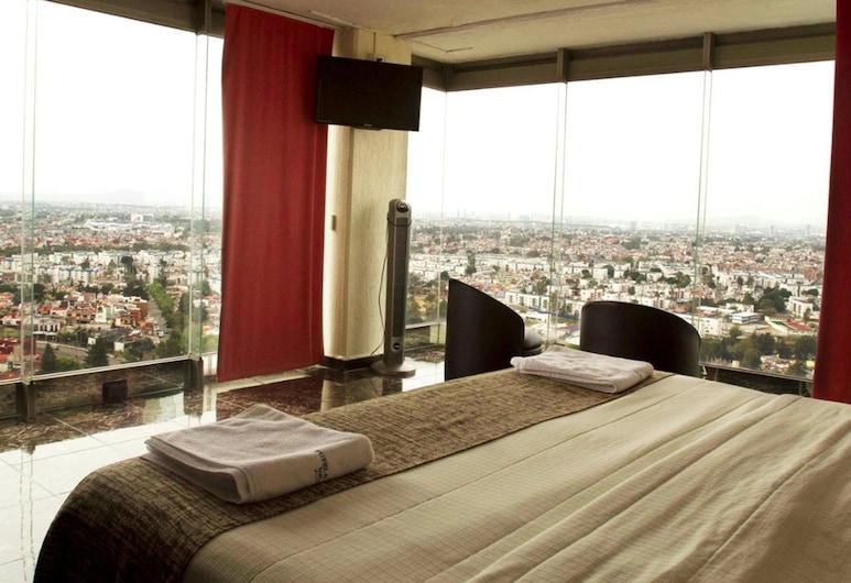 Puebla Inn Express, Puebla, Standardzimmer, Blick auf die Stadt