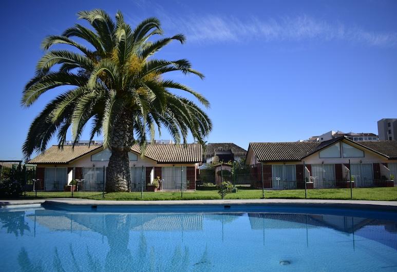 Apart Hotel y Cabañas Vegasur, La Serena, Basen odkryty