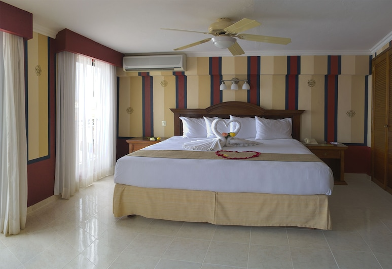 Hotel Plaza Colonial, Campeche, Standard-rom, Bad