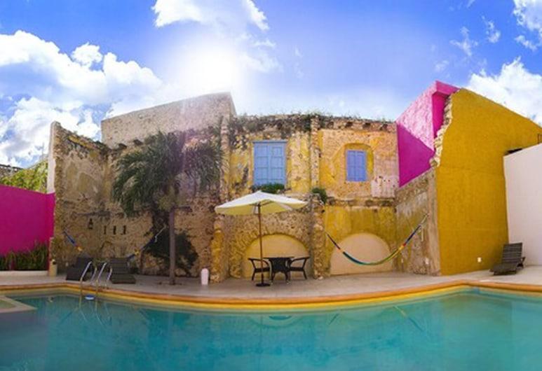 Hotel Socaire, Campeche, Vonkajší bazén