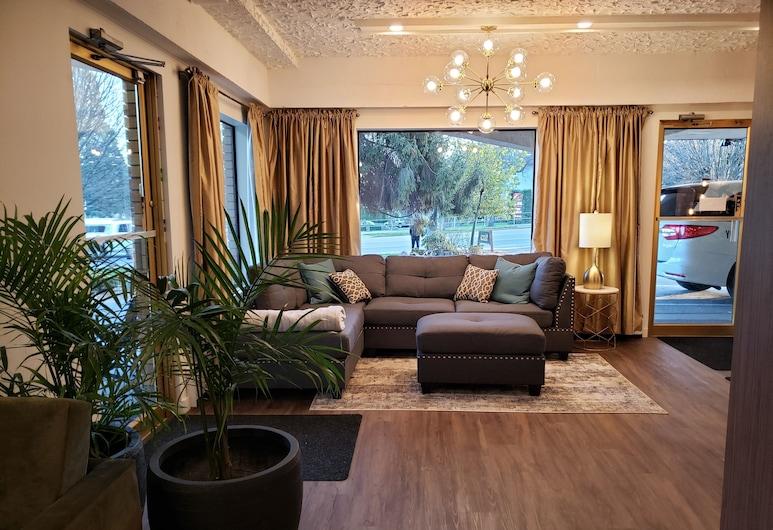 Robin Hood Inn & Suites, Виктория, Гостиная в вестибюле