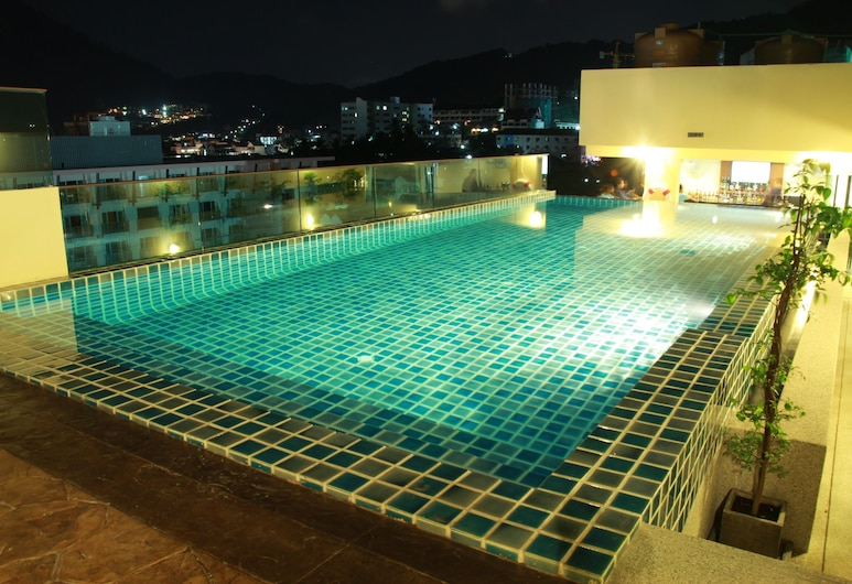 Hemingways Silk Hotel, Patong, Kolam Terbuka