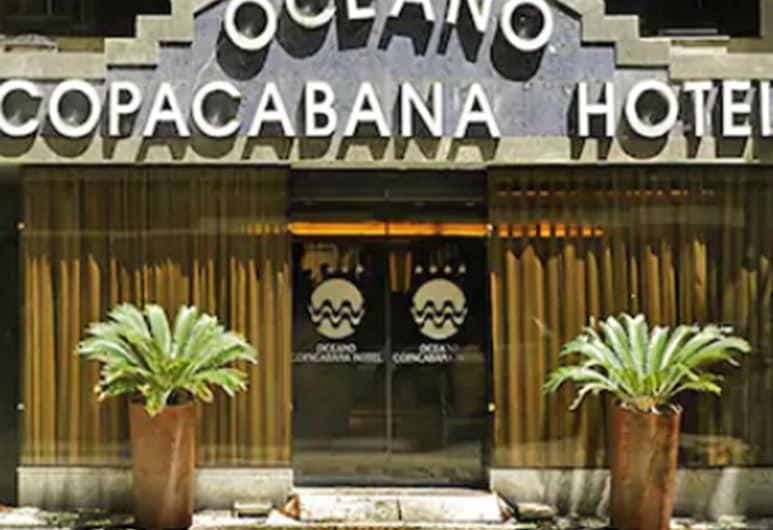 Oceano Copacabana Hotel, Rio de Janeiro, Hotel Front