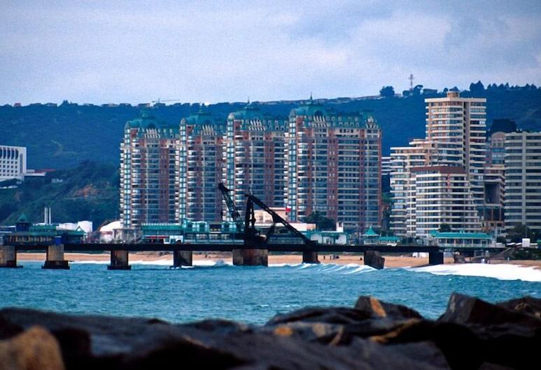 Puerto Pacifico Apartment, Vina del Mar, Uitzicht vanuit de accommodatie