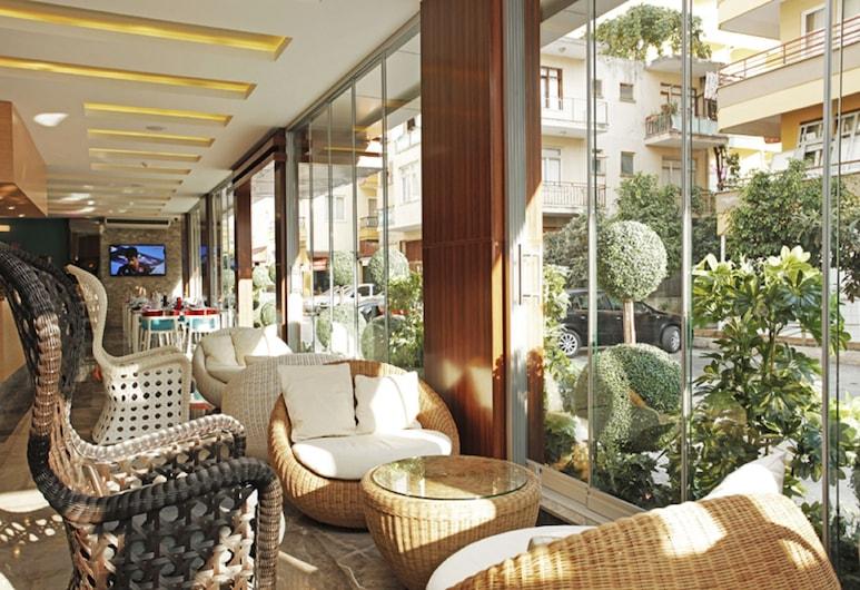 Kleopatra Suit Hotel - Adults Only, Alanya, Priestory na sedenie v hale