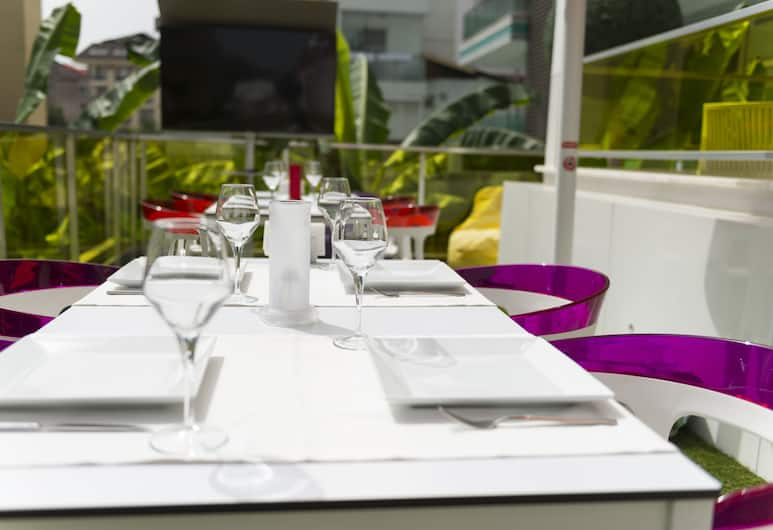 Kleopatra Suit Hotel - Adults Only, Alanya, Terrasse/Patio