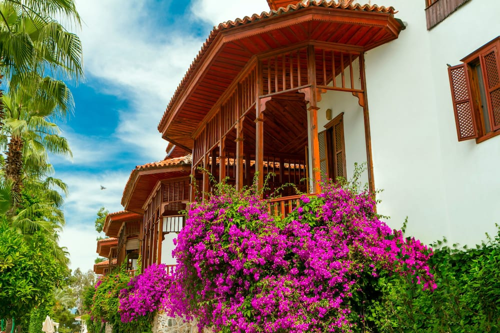 Villa ar piekļuvi klubam, divas guļamistabas, virtuve, pretī jūrai - Viesu numurs