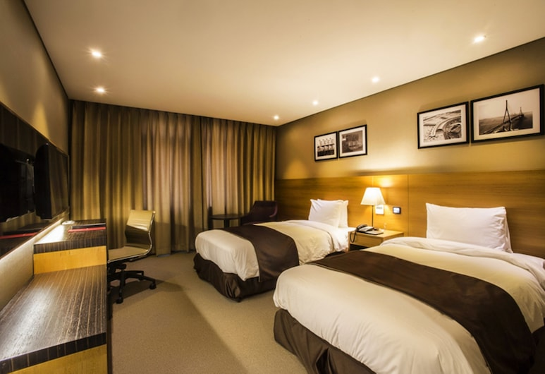 The Central Plaza Hotel, Incheon, Superior Twin Room, Guest Room