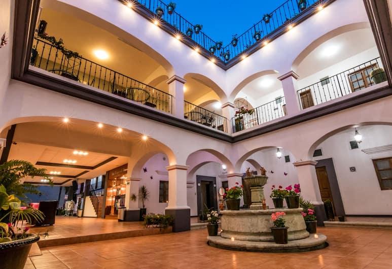 Hotel del Marquesado, Oaxaca, Hala